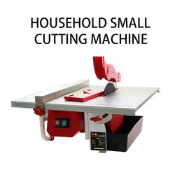 Desktop elektrische tegel snijmachine huishoudelijke kleine multifunctionele stenen vloer tegel jade snijmachine afkanten machine