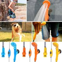 12V Electric Water Pump Car Auto Washer Camping Hiking Travel Outdoor Car Shower Kit Durable Cleaning Tools