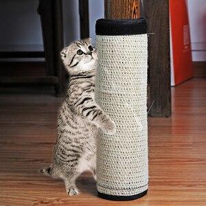 1 шт. натуральная Нетоксичная сизальная Конопля Когтеточка для кошек защита мебели Когтеточка для кошек товары для кошек 4