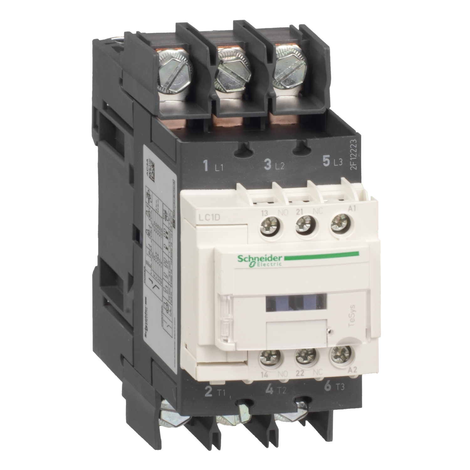 New authentic LC1D65A6U7 coil 240VAC 50 / 60Hz three-level contactor 65A load 11KW-400V standard TeSys D ring terminal