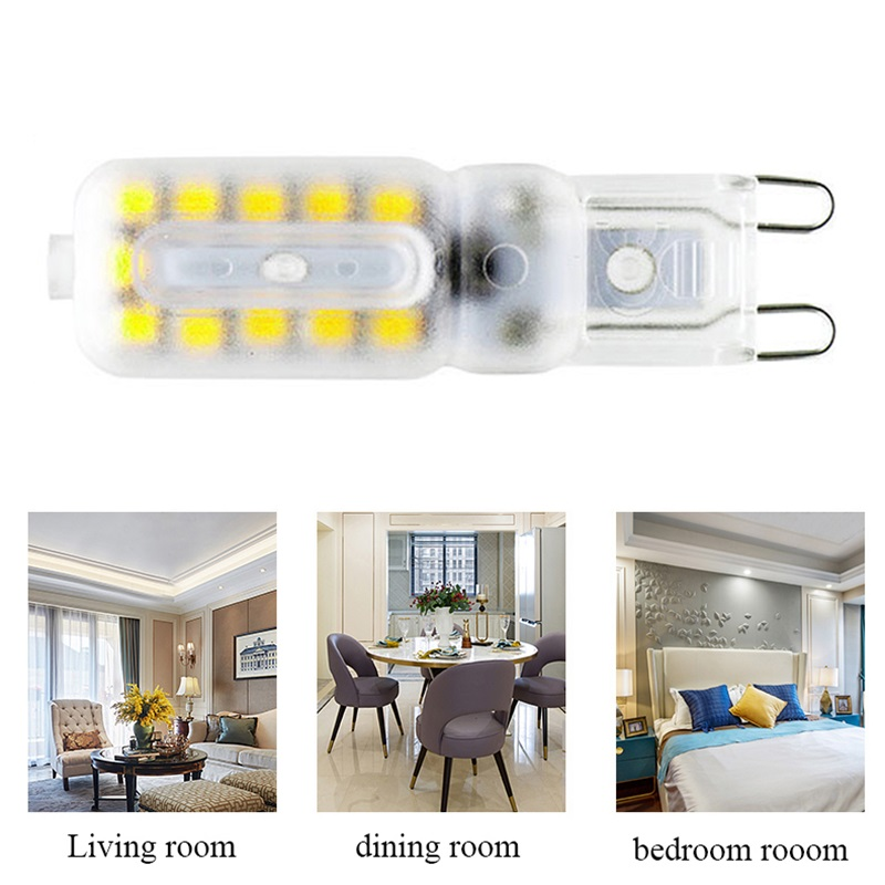 1pcs G9 Replace Saving Corn Light 14/22LED 220V 1.5/2.5W Bedroom Kitchen Bathroom Living Room Durable Ultra Bright Led Bulb