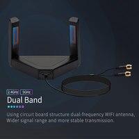 Tarjeta de red para el ordenador portátil de Escritorio PC 1300Mbps 2,4G 5,8G de banda Dual adaptador Wifi inalámbrico interfaz de SMA antena externa