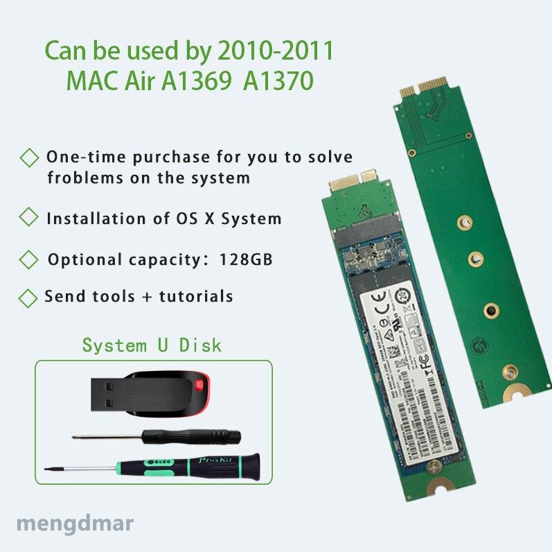 Véritable ordinateur portable SSD pour Apple Macbook Air 11