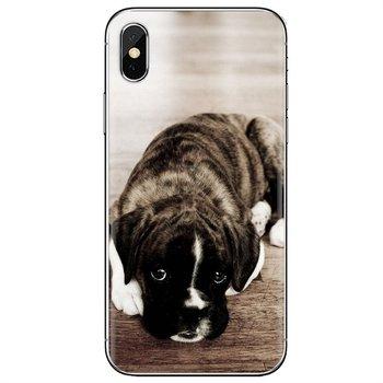 Для samsung Galaxy Note 2, 3, 4, 5, 8 9 S2 S3 S4 S5 мини S6 S7 край S8 S9 плюс силиконовый чехол для мобильного телефона чехол щенок боксера
