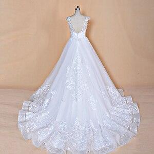 Image 4 - 2020 ใหม่ออกแบบชุดแต่งงาน Vestidos de เจ้าสาวเจ้าสาวชุดที่กำหนดเองทำชุดแต่งงานโรงงาน