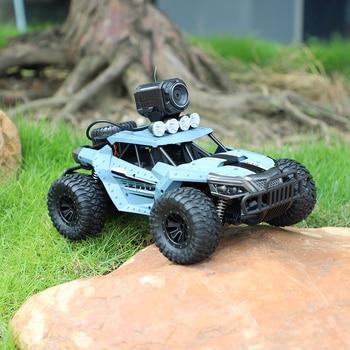 Xmas Gift Remote Control Car 2.4GHz WIFI Control Optional 720P Cameras Off Road Buggy 1:18 Big Drift Car for Boys Present