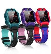 цена на US Captain Kids Waterproof Smart Watch Phone, LBS/GPS Tracker Touchscreen Smartwatch Games SOS Alarm Clock Camera Smart Watch