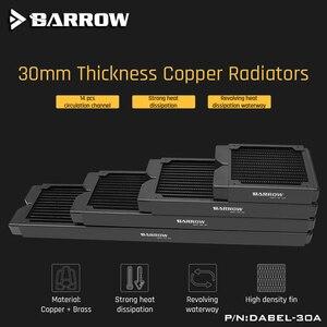 Image 3 - 배 로우 Dabel 30a 480 구리 라디에이터 30mm 두께 14pcs 순환 채널 120mm 팬에 적합