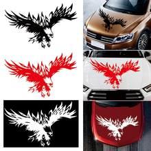Autocollants de voiture classique, ailes volantes, élégant, aigle, motif Tribal, capot de voiture, camion, Suv, 1 pièce, 50x80 cm
