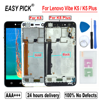 For Lenovo Vibe K5 A6020A40 A6020a41 LCD Display Touch Screen Digitizer Assembly For Lenovo K5 Plus A6020A46 A6020l36 a6020l37