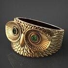 Vintage Owl Alloy Ri...