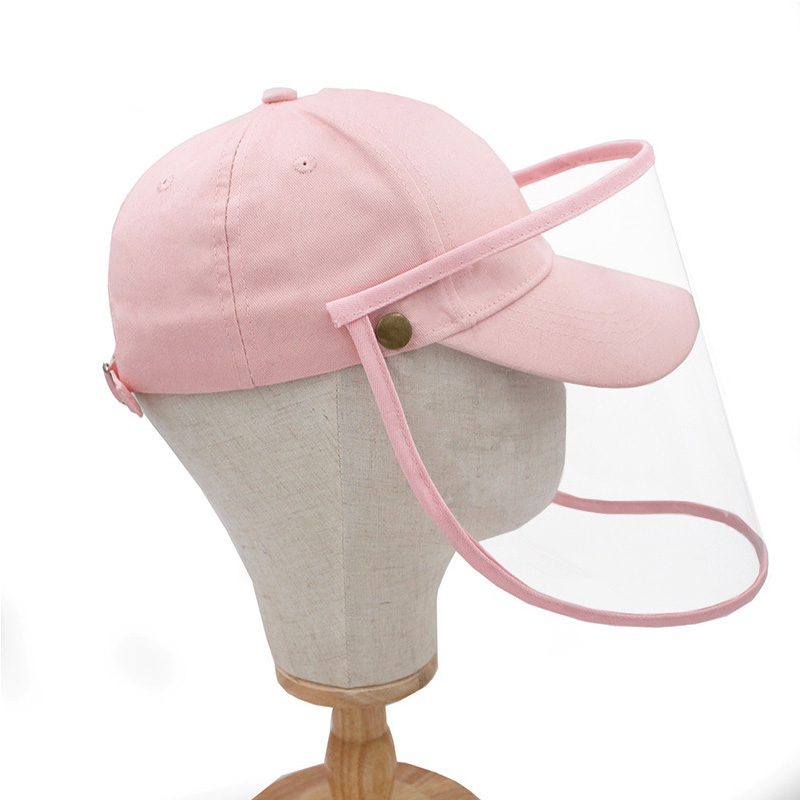 JULY'S SONG Protective Hat Removable Prevent Infection Anti-saliva Non-dust Hat Protect Face Eyes Removable Cap Windproof