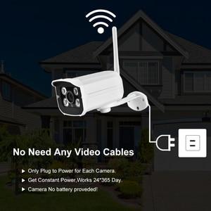 Image 2 - Gadinan HD 4MP 1080P Wireless SD Karte Slot Audio IP Kamera Wifi Sicherheit Kamera Nachtsicht Metall Wasserdichte Outdoor kamera