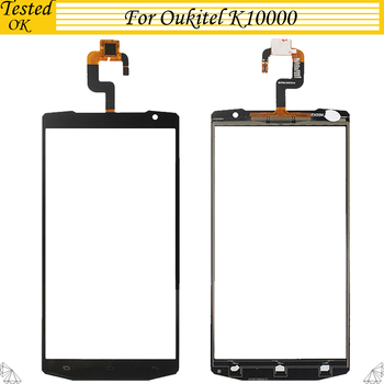 Original For Oukitel K10000 Touch Screen Panel Perfect Repair Parts K 10000 Glass With Digitizer Sensor Replacement