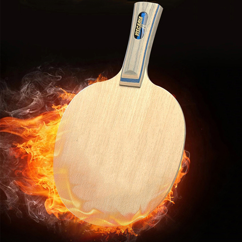 Купить с кэшбэком Carefully crafted Arylate Carbon Table Tennis Paddle Fast Attack Loop Ping Pong Bat Racket High attack power