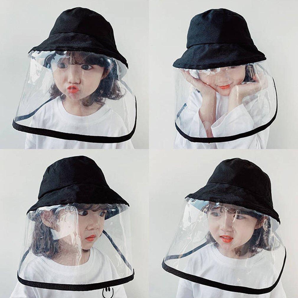 Anti-Spitting Protective Hat Anti-Dust And Anti-Fog Dustproof Fisherman Hats Children Practical Hats