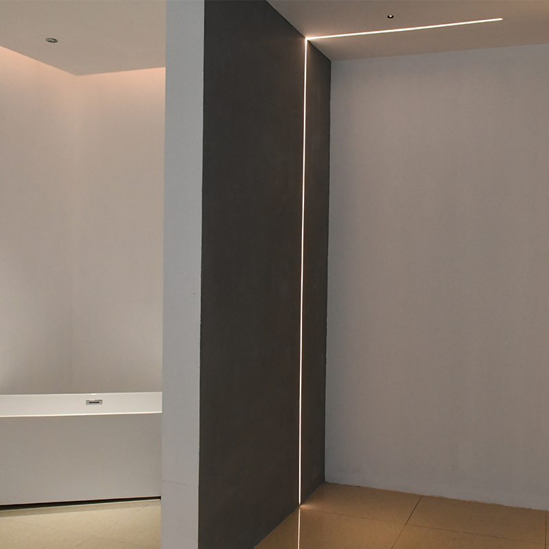 SCON 24V 4 W/M 1M Langen Harten aluminium profil Embedded flexible led licht streifen 2cm Decke Wand schrank Dekorative Lichter 5 mt/los