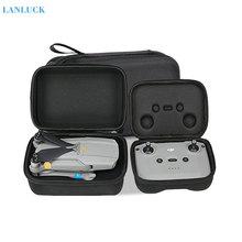 Zangão caixa de controle remoto para dji mavic ar 2 portátil bolsa armazenamento caso transporte protetor para mavic air2 acessórios