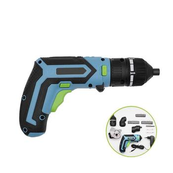 4 in 1 35pcs Mini Wireless Power Driver 3.6V Lithium-Ion Cordless Drill Rechargeable Convenient Electric Screwdriver