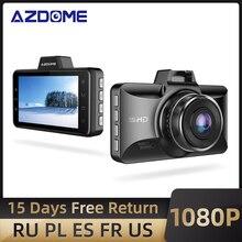 הכי חדש AZDOME M01 פרו FHD 1080P מצלמת מקף, 3 אינץ DVR רכב נהיגה מקליט, ראיית לילה, פרק צג, G חיישן, הקלטת לולאה