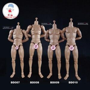 Image 1 - COOMODEL 1/6 mężczyzna mięśni ciała Model BD007 BD008 BD009 BD010 kolekcjonerskie zabawki figurki akcji