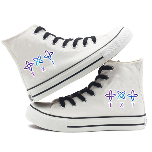 TXT THEMED HIGH TOP SHOES (6 VARIAN)