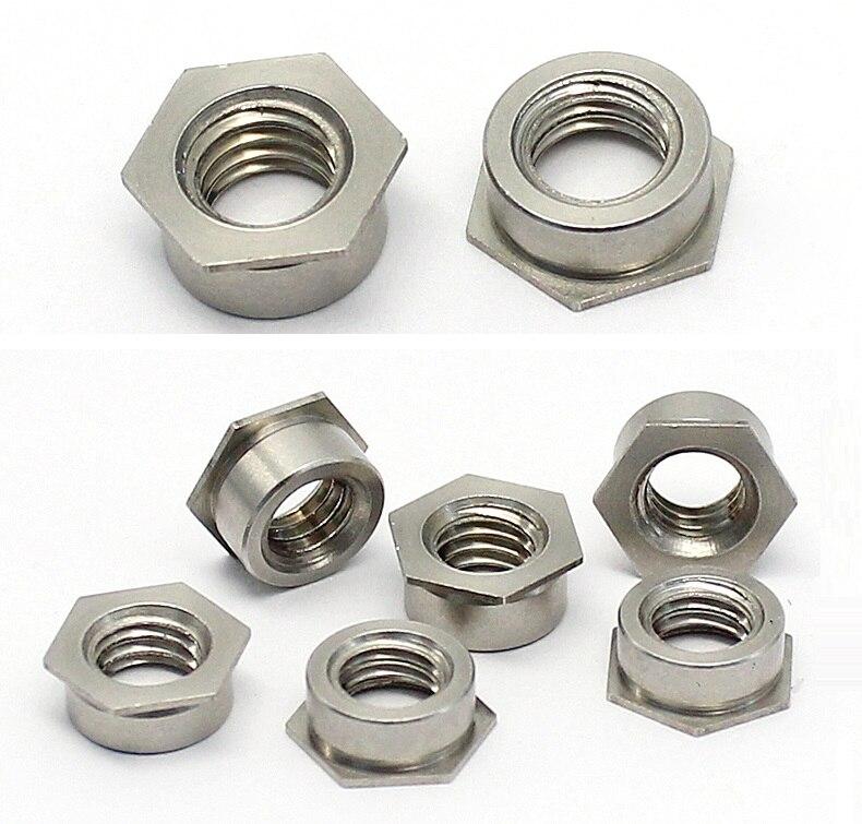 QFDM Durable Nut Passo 2-5Pcs M2 M2.5 M3 M4 M5 M6 in Acciaio Inox ad Alta zigrinata Thumb Dado Foro cieco Noci pubblicit/à chiodo Decorativo Wide Range of Applications Size : M2 5PCS