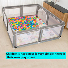 цена 2020 new 0-3 years old children's play game fence indoor baby toddler safety fence baby crawling playground baby playpen онлайн в 2017 году