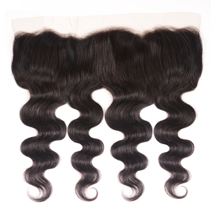 Image 5 - Unice Hair Brazilian Body Wave Lace Frontal 100% Human Hair 13x4 Ear To Ear Lace Closure Remy Hair Frontal Pre Plucked
