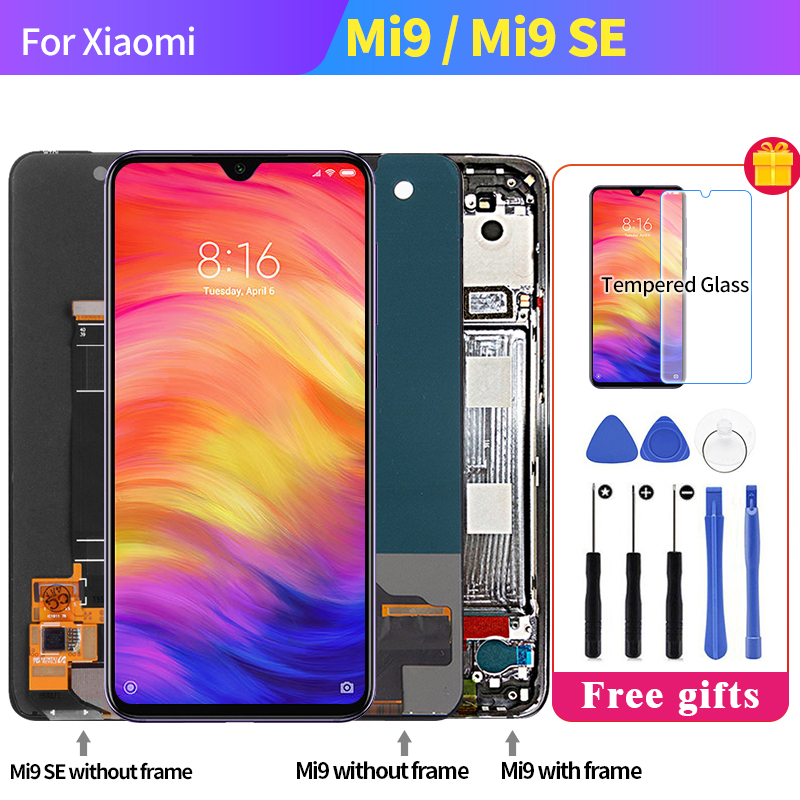 For <font><b>Xiaomi</b></font> MI 9 SE LCD <font><b>Mi9</b></font> SE AMOLED LCD <font><b>Display</b></font> Touch Screen Digitizer for <font><b>Xiaomi</b></font> 9 SE <font><b>Display</b></font> Replacement 5.97