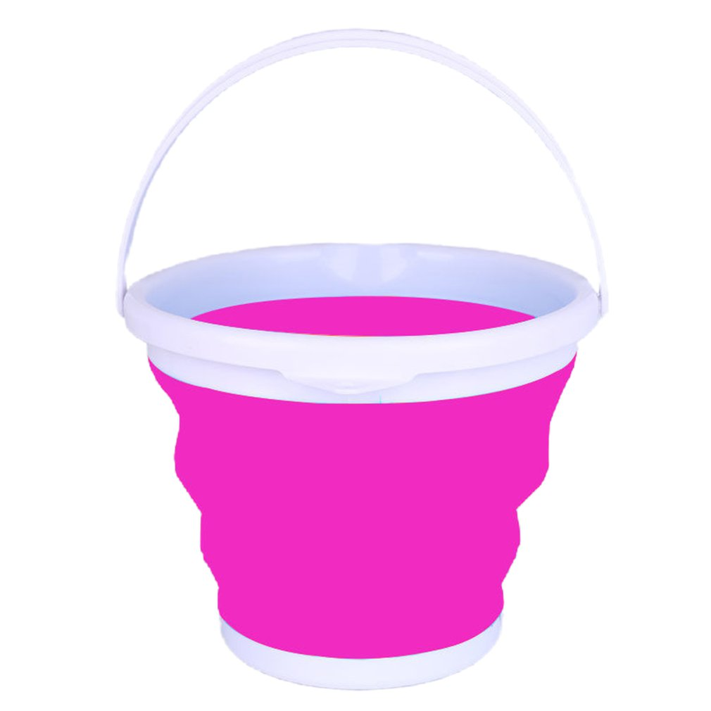 Honest Detachable Washing Machine Portable Special Bucket Retractable Plastic Household Thicken Travel Outdoor Car Washing Bucket Unequal In Performance