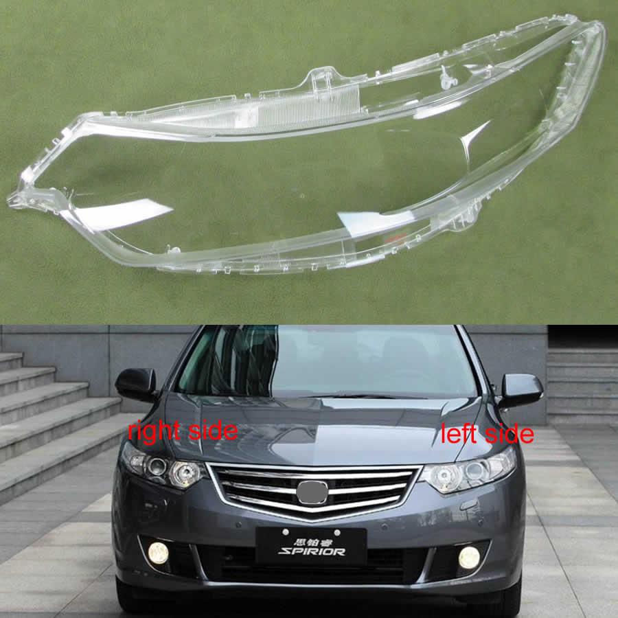 Front Headlamps Transparent Cover Glass Lampshades Lamp Shell Headlight Cover Lens For Honda Spirior 2009 2010 2012 2013