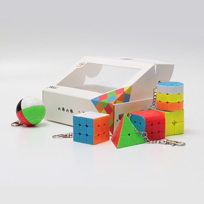 mini cubo mágico 2x2x2 3x3x3 mágica bola