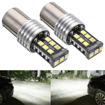 2x 1156 BA15S P21W LED T15 W16W Car Reverse Lights for Subaru Forester Legacy Outback Impreza XV STI B9 Tribeca Turn Signal Lamp image