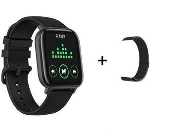 RUNDOING P8 1.4 inch Smart Watch Men Full Touch Fitness Tracker Blood Pressure Smart Clock Women GTS Smartwatch 12