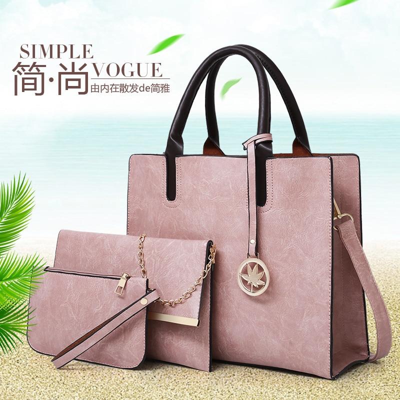 Women  Wallets PU Korean Version  Temperament  One-shoulder Elegance Handbags