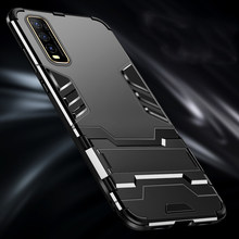 Armor Phone Case for Vivo Y70S Y9S Y5S Y19 Y85 Y69 Y67 Y66 Y55 Y53 Y50 Vivo X50 Pro X27 X23 X21 X21i X20 X9 X9s Plus Cover Case(China)