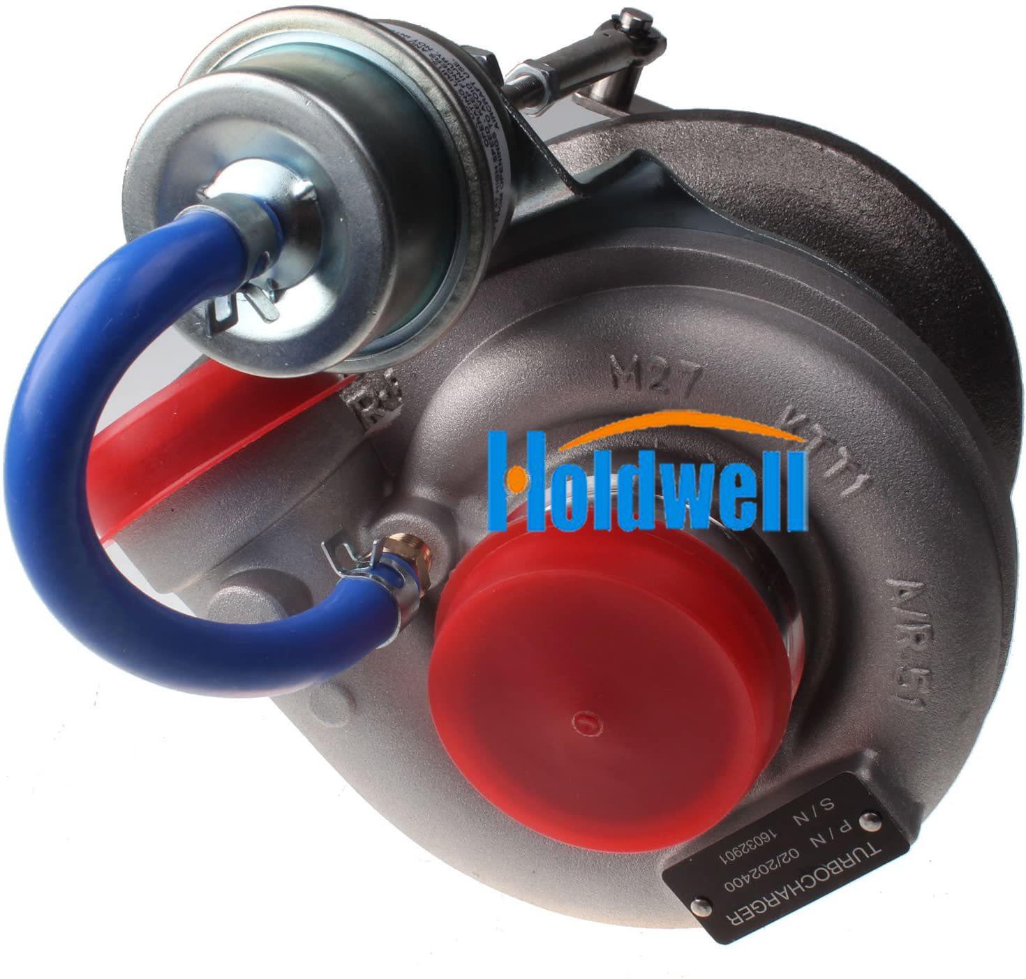 Turbocompresseur Holdwell 727266-5001S 02/202400 pour Perkins JCB Construction 537