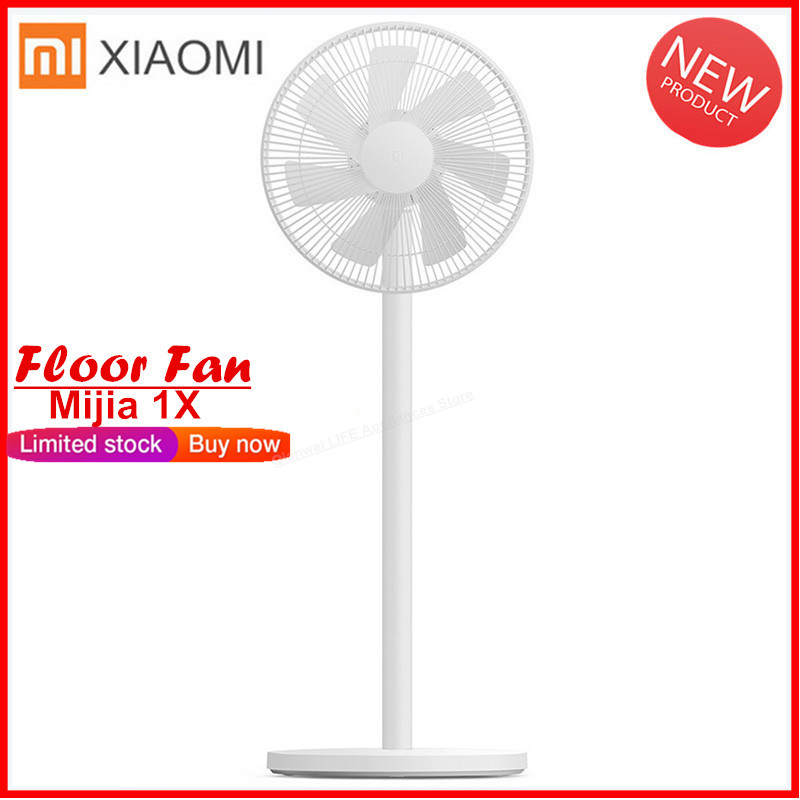 New 2019 Xiaomi Mijia 1X DC Frequency Conversion Fan Natual Wind APP Control Cooler Floor Standing Fan Air Conditioner For Home toilet seat