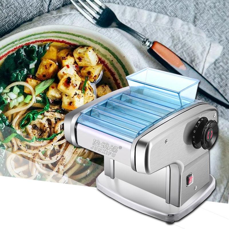 Household Pasta Machine Electric Pressing Machine Stainless Steel Kneading Machine Multi-function Dumplings Peeling Machine