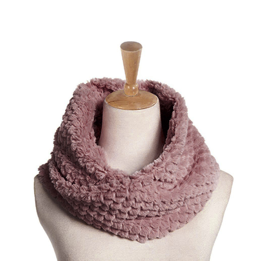Warm Cashmere   Wraps   Winter   Scarf   For Women knitted   Scarves   Womens Blend Circle Collar   Scarf   Shawl Collar   Wrap   Stole Scarve