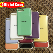 Original Official Silicone Case For iPhone