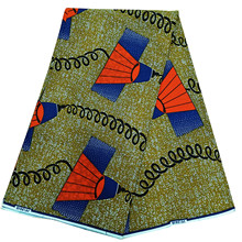 wholesale Ankara cotton fabric dutch wax African veritable prints fabrics 100%