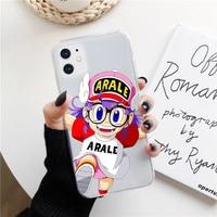 Funda de teléfono de silicona ARALE para iphone, carcasa trasera de anime japonés para iphone 11 12 Mini Pro MAX XS XR 7 8plus 6S 7S SE20