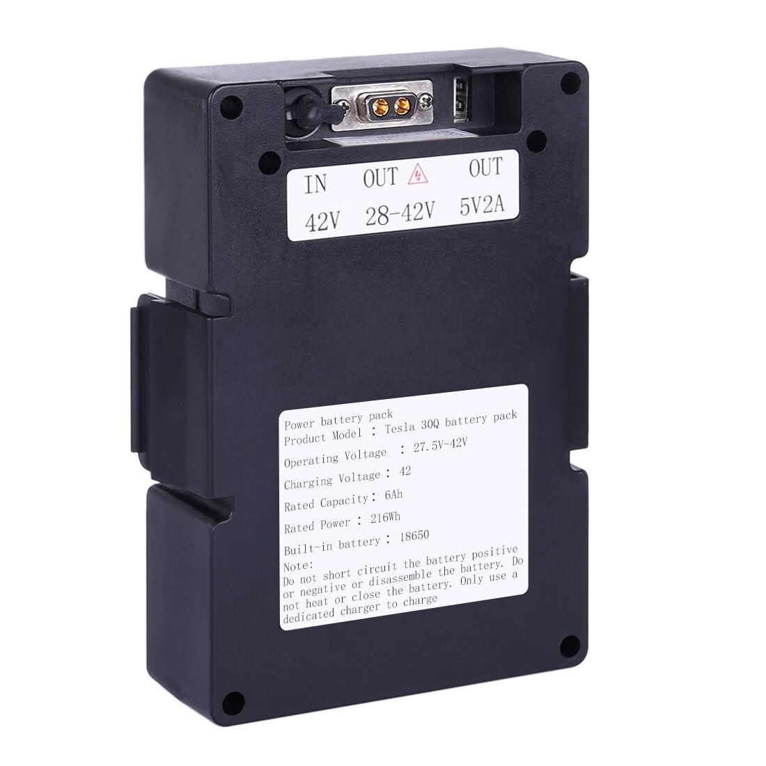 42V 6AH 10S2P 30Q Battery Pack For Electric Skateboard