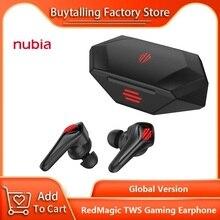 100% Original Global Version RedMagic TWS Gaming Earphone for RedMagic 5S 5G Redmagic Cyberpods 39ms low latency