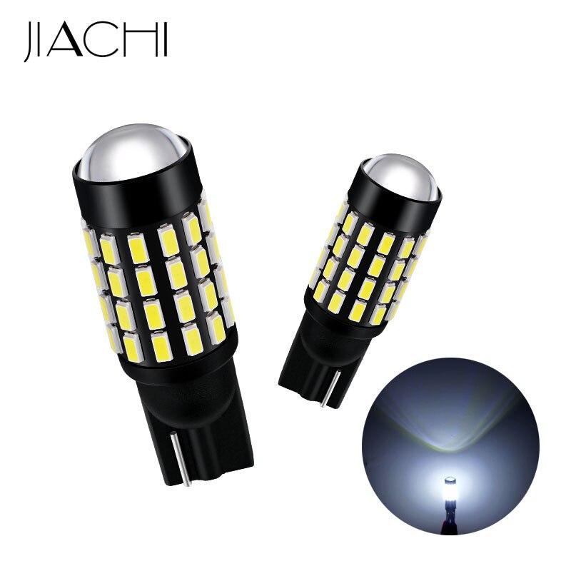 JIACHI 100 ピース/ロット卸売 T10 W5W LED 車の電球 W5W 194 168 2825 3014 SMD 54 Led オートライトクリアランスライト 12 24V 白  グループ上の 自動車 &バイク からの 信号ランプ の中 1
