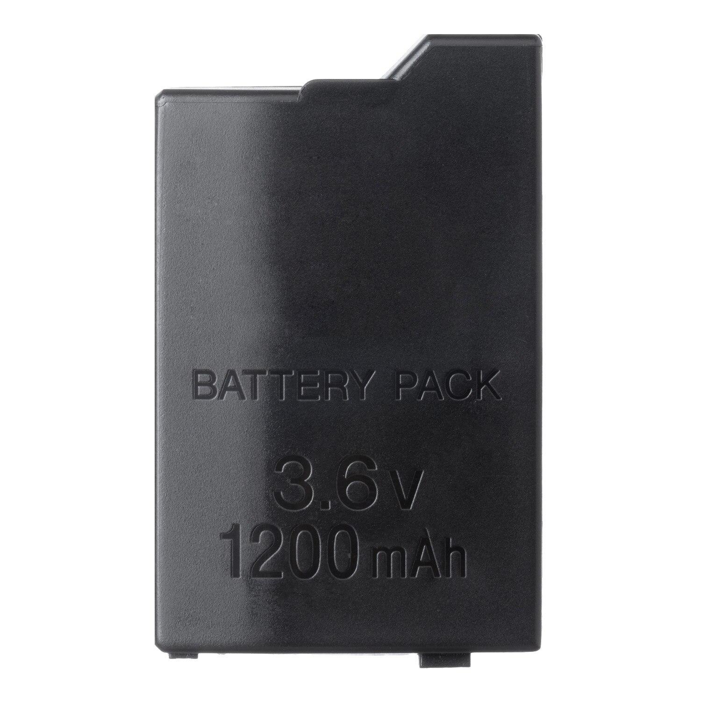 OSTENT 1200mAh 3,6 V Lithium-Ionen Akku Ersatz für Sony PSP 2000/3000 PSP-S110 Konsole