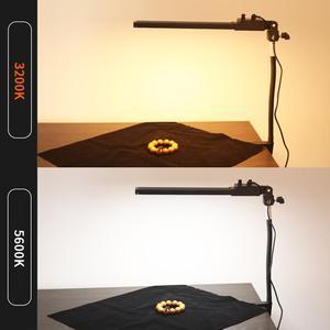 Image 5 - GSKAIWEN Brightness Color Temperature Adjustable with Desktop Soft Tube Clamp Yutube Live Beauty Makeup Selfie Photography Light