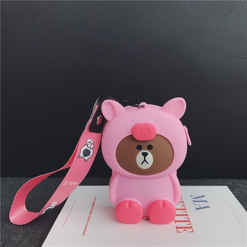 Mini Zipper Earphone Headphone SD Card Storage Bag Box Carrying Pouch Fashion